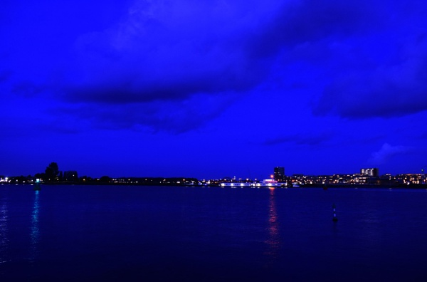 When everything turns blue by Shahidrao
