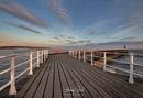 Whitby pier dawn by AntonyB