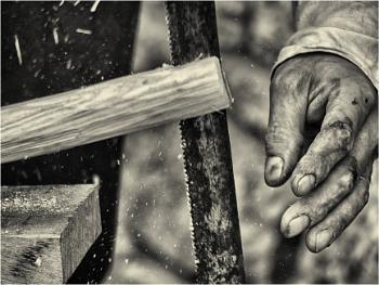 A medieval carpenter - 1