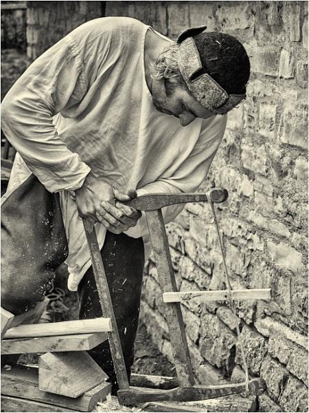 A medieval carpenter - 2. by franken