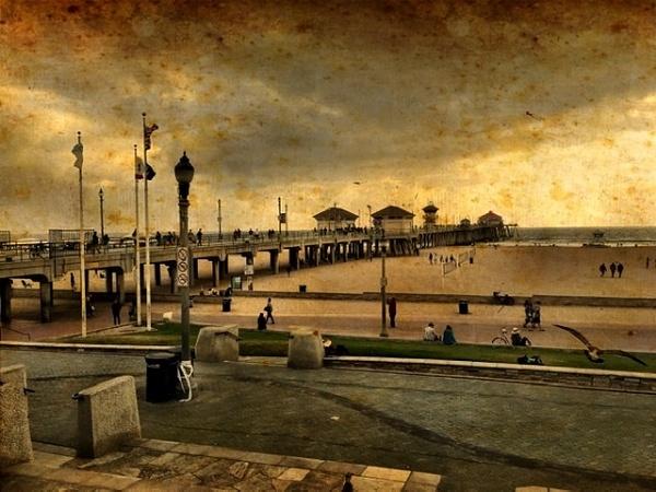 Days gone by @ Huntington Beach...... by blackbird3