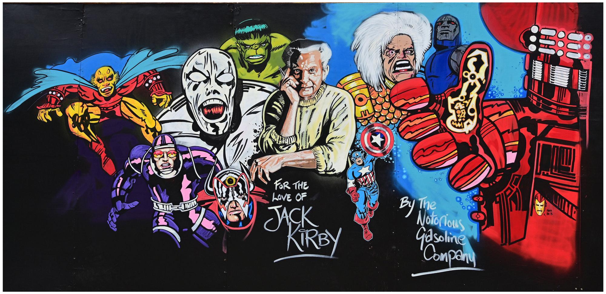 """Jack Kirby Tribute"""