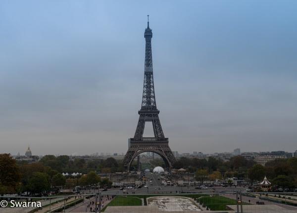 Eiffel Tower ... by Swarnadip