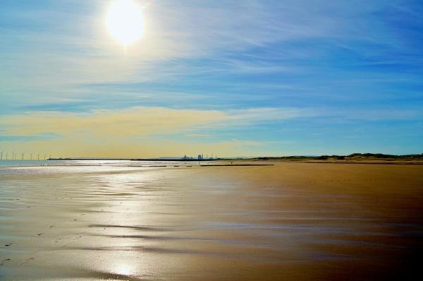 On the beach. by georgiepoolie