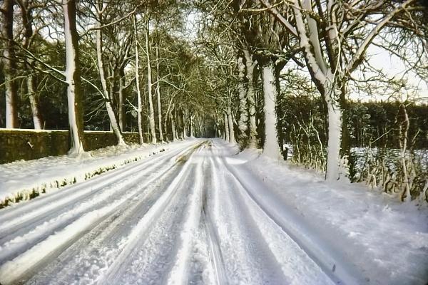 Snowy Road 1969 by silverscot