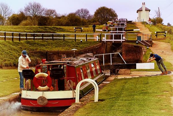Foxton Locks by snapcracklenpop