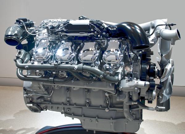 VW motor by FotoDen