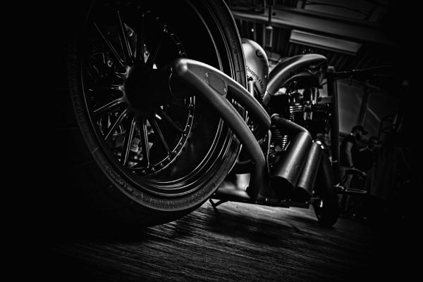 Custom Harley Davidson by icipix