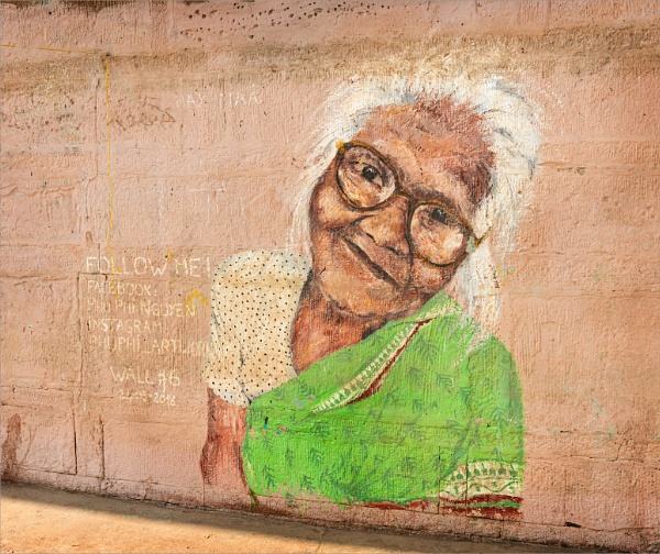 Graffiti Granny by PhilScot