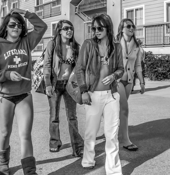 The Girls of Santa Monica by jimlad