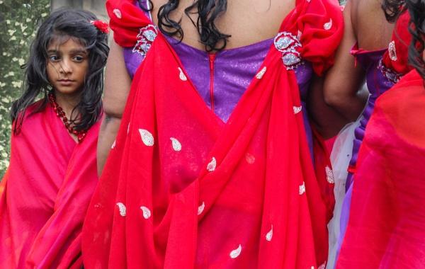 girl at wedding by jimlad