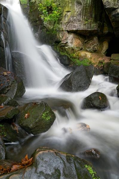 Lumsdale Falls Matlock Derbyshire by RoyChilds