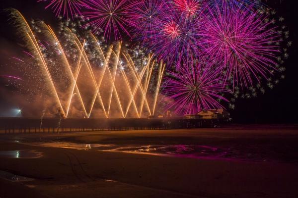 Titanium Fireworks by WorldInFocus