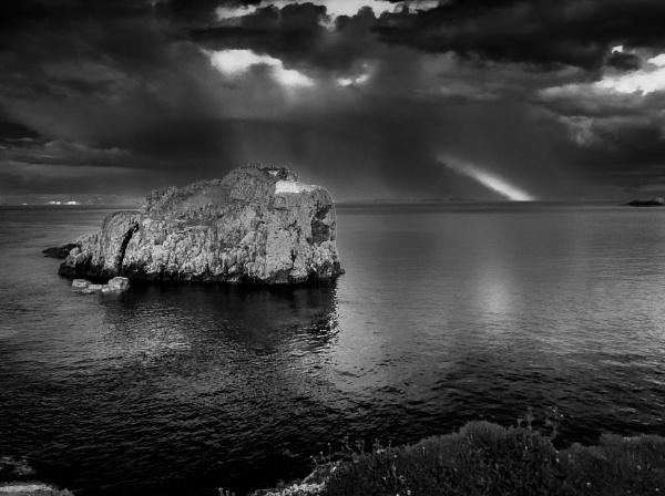 Island off North Atlantic way - Northern Ireland by bobbyl