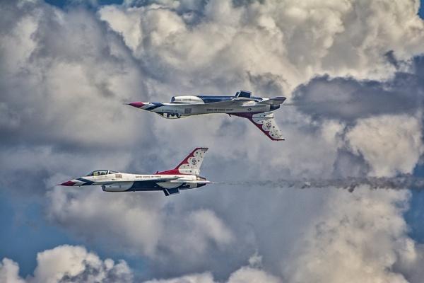 U S Air Force Thunderbirds by jbsaladino
