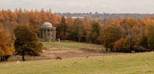 Rotunda are Wentworth Castle by Jodyw17