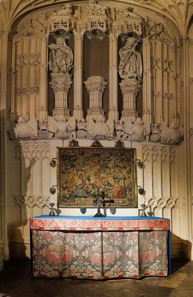 Side chapel inside Westminster Abbey London. by StevenBest