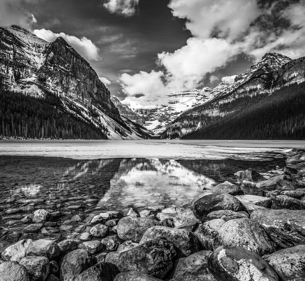 Lake Louise II by Yogendra