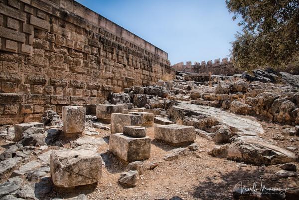 Lindos acropolis ruins by jimmymack