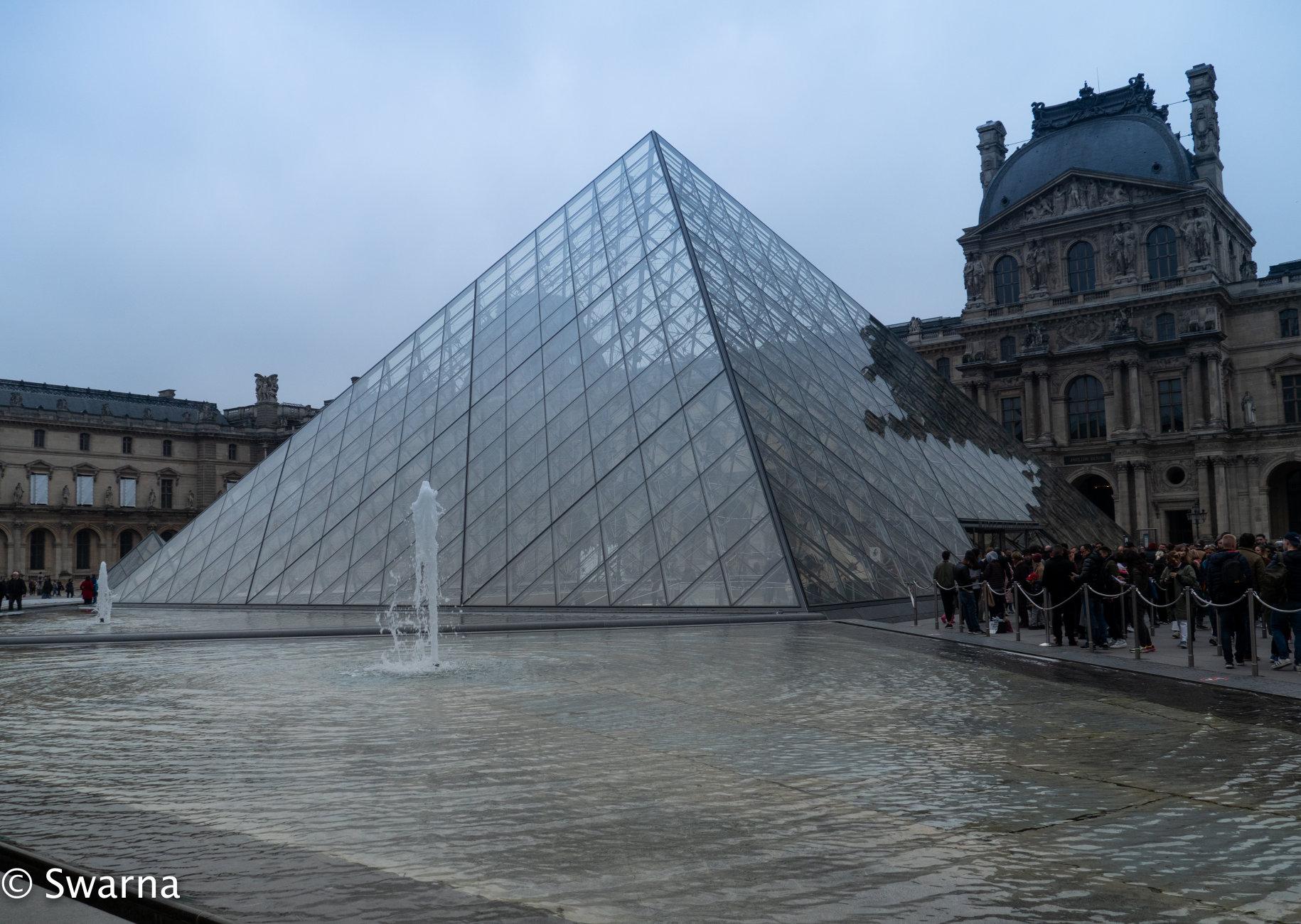 Louvre Museum...