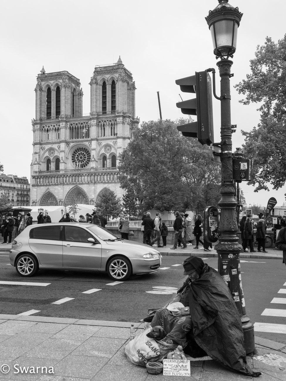 Homeless in Paris II...