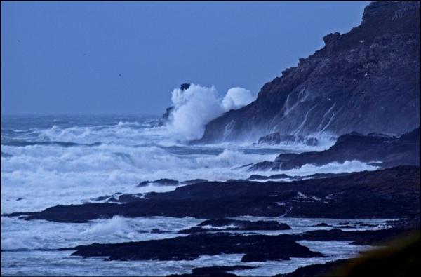 Saturday\'s Storm - Trevose Head by JuBarney