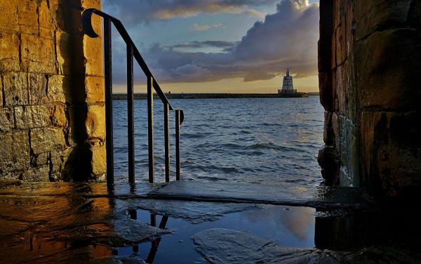 The Pilot Pier -  Headland Hartlepool. by georgiepoolie