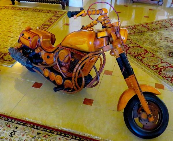 Wooden Motorcycle by ddolfelin