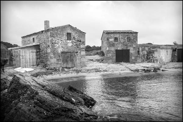 Fishermen\'s Huts, Colonia St.Jordi by bwlchmawr