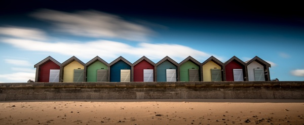 Blyth Beach Huts by Legend147