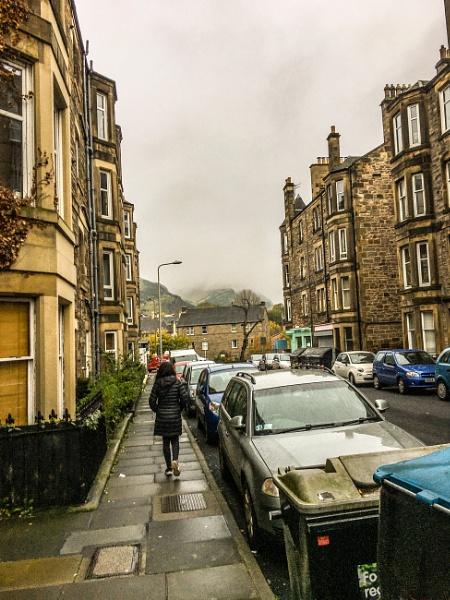 Misty Edinburgh. by Pinarellopete