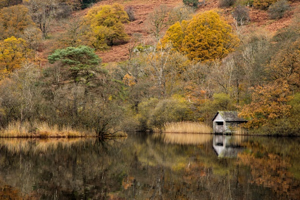 Rydal Water, Boat House by jasinclair