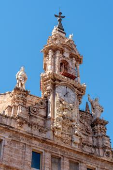 VALENCIA, SPAIN - FEBRUARY 27 : Royal Parish Church of St John i