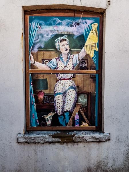 Wall art in Cadishead by bobbyl