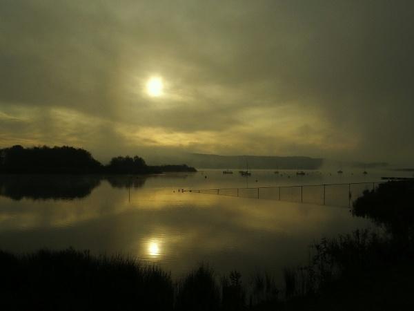 Cold Autumn Dawn At Carsington by ianmoorcroft
