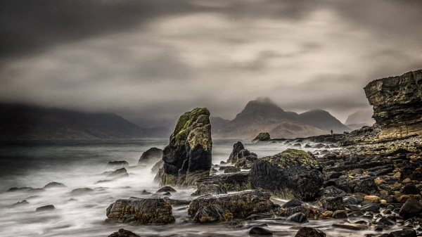 Wet  day at Elgol by Pete2453