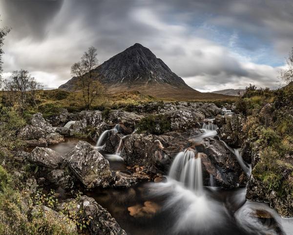 Glen Etive falls by Pete2453