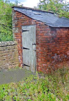 Door to Outside Toilet