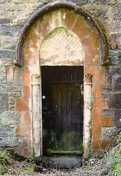 An Old Church Door.