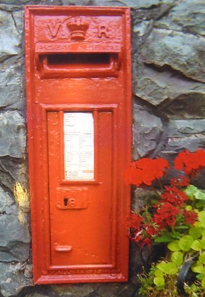 Post Box V R  Door. by Gypsyman