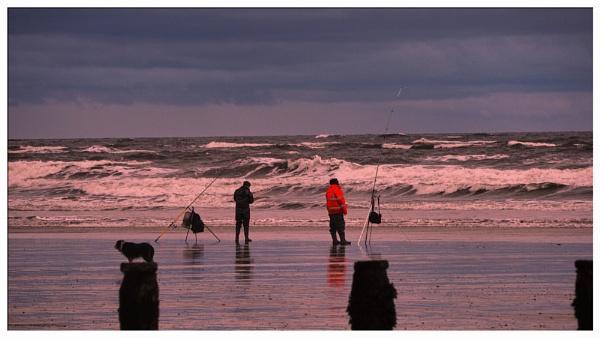 SURF FISHING. by kojack