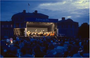 Concert at Shugborough Hall