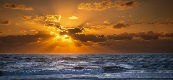 Sunrise at Corolla, N.C. to print by GGAB