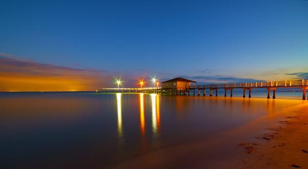 Fort de Soto - Pier by jacques st-jean