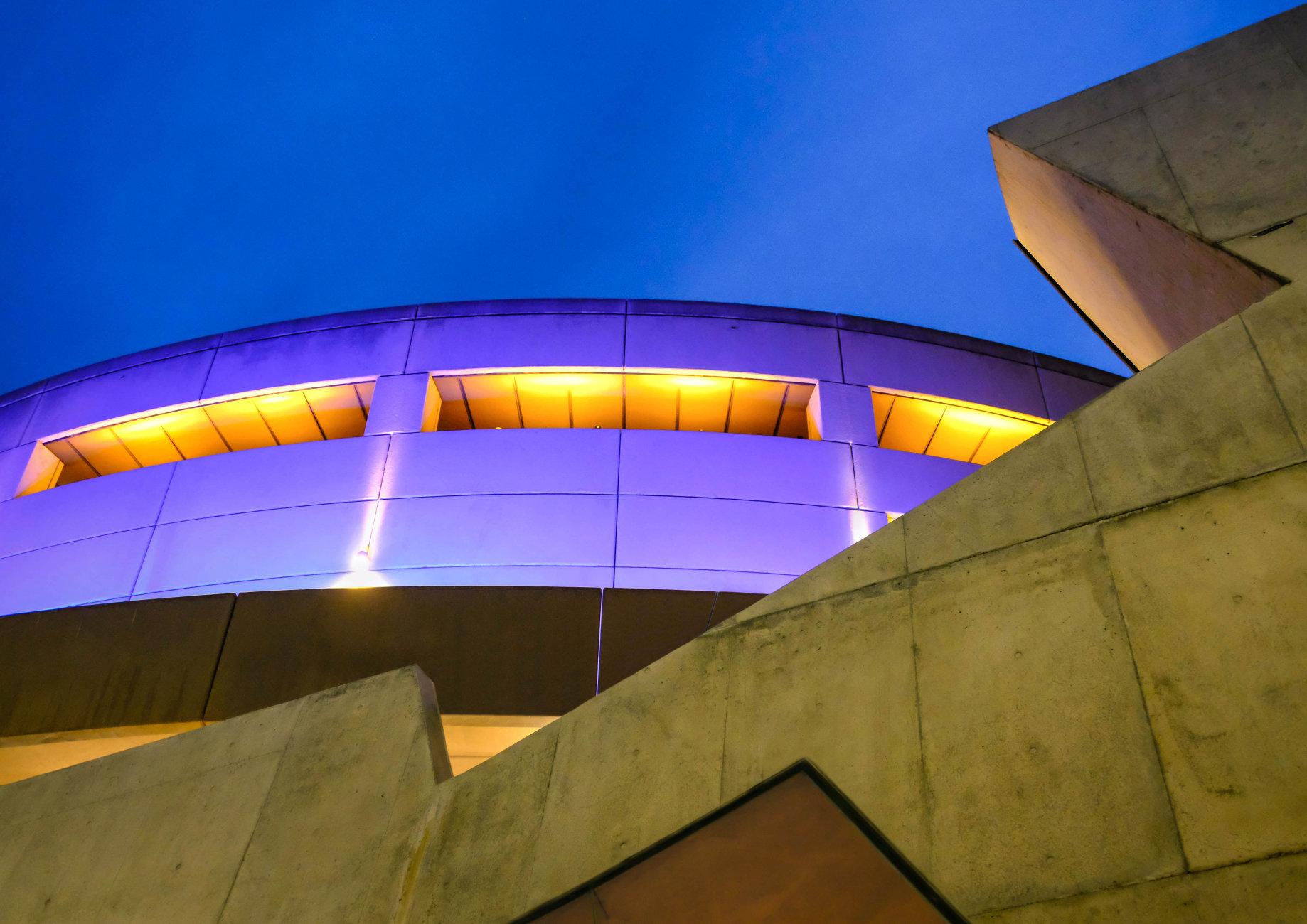 Arts Centre Reflection