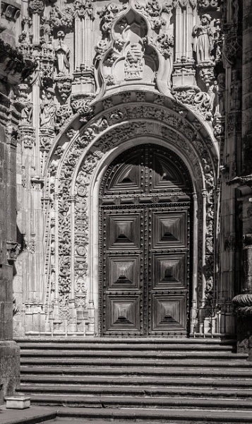 Doorway of Convento de Cristo, Tomar (3) by jacomes