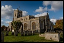Stratford St.Mary church  in colour by TornadoTys