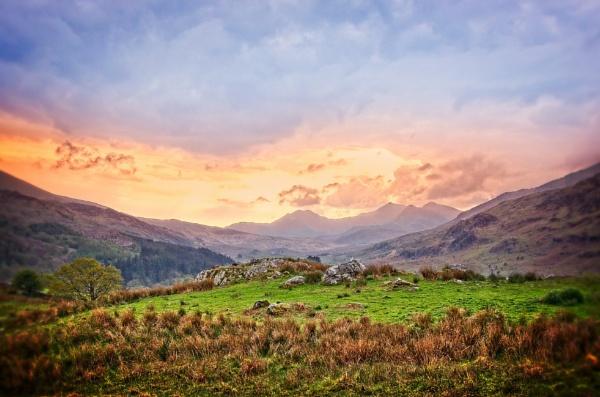 Capel Curig View by Webbs