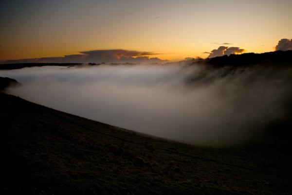 Rising mist by alfpics