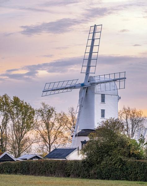 Saxtead Green Post Mill, Suffolk by MartinLeech
